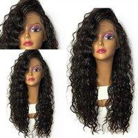 360 peluca frontal de encaje 180% pelucas de cabello humano 13x4 cordones pelucas sueltas profundamente rizado completo para mujer negra nudos blanqueados Curl Hedui