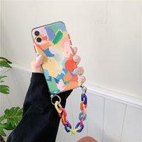 Casi del telefono cellulare per Apple iPhone 12Promax Mini XR Catena Protector