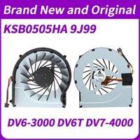 Para ventilador DV6-3000 DV6T DV7-4000 CPU refrigerador de enfriamiento KSB0505HA 9J99 631743-001 610778-001 610777-001 610777-001 606575-001 Fans Fans