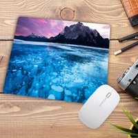 Mouse Pads & Wrist Rests Big Promotion Seaside Mountain Landscape 180*220*2mm Small Gaming Pad High Quality Speed Mousepad Profession