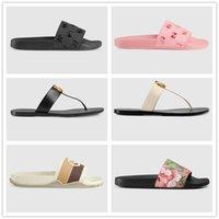 2021 verão luxo g sandálias designer mulheres flip flops chinelo moda genuína couro slides de metal cadeia senhoras casuais sapatos