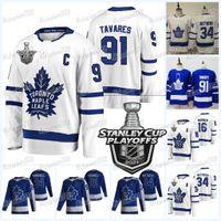 Toronto Maple Leafs 2021 Stanley Cup Playoffs Jersey John Tavares Jason Spezza William Nylander Riley Nash Adam Brooks Mitchell Marner Auston Matthews Thornton