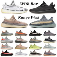 yeezy yezzy 350 V2 kanye west platform outdoor cinder zyon 남성 여성 운동화 zebra asriel desert sage yecheil Reflective bred mens trainers sports sneakers 36-48