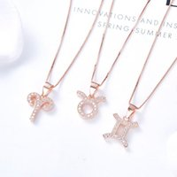 Chains 2021 Classic Rose Gold 925 Sterling Silver Constellation Necklace For Women Design + Zircon Links