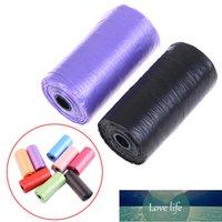 20st BIODEGRADRADABLE PET PICK UPP Plastskräppåsar Färger Tjock Bekväm rengöring av kassaskåp Små skräpavfall