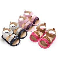 Первые ходунки Bekamile Toddler детская обувь мокасины кроватки лето мягкое нижнее нижняя конфета Color SHL043