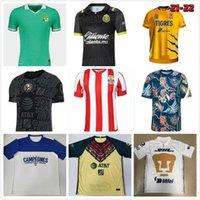 20 21 22 Club América Home Away Jerseys 2021 2122 UNAM Terceiro Leão Uanl Tigres Chivas Guadalajara 115 ano 115th Cruz Azul Kit Camisas de Futebol Camisas de futebol