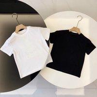 2021 Nouveau designer Marque 2-9 ans Bébé Baby Boys Filles T-shirts Summer Shirt Tops Enfants T-shirts Enfants Chemises Vêtements Bodte524 Chemises Manteau