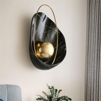 Wall Lamps BROTHER Nordic Creative Light Sconces Modern LED Lamp Pearl Shade Fixtures For Home Living Room