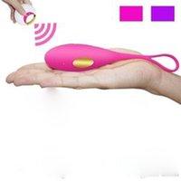 Vibromasseurs Jouets sexuels pour femme étanche Vibrer USB Oeufs de saut rechargeables pour vibrateur Femme Vibromasseur Body Couple Couple Flirter Jouet