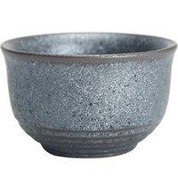 Vintage Coarse Pottery Teacup Kiln Baked Handmade Pin ming Tea Master Mug