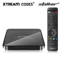 MEELO PLUS XTV Pro Stalker Smart Tv Box Android 9.0 Amlogic S905X3 XTREAM Codes Set Top Box 4K 2G 16G Dual Band 5G Wifi BT Media Player