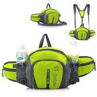 Backpack 5L Large Running Bag Outdoor Sport Bicycle Cycling Shoulder Waist Pack Men Women Hiking Camping Bike Riding Bottle
