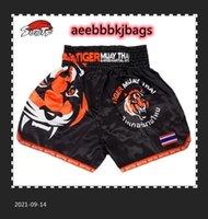 Suotf Tiger Match Sanda Training تنفس الملابس الملاكمة السراويل التايلاندية الملاكمة MMA 201216