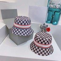 디자이너 양동이 모자 남자 여자 거리 모자 편지와 함께 모자 어부의 모자 블랙 블루 높은 품질