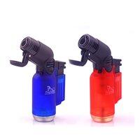 고품질 담배 시가 라이터 제트 화염 토치 금속 windproof 풍선 주방 용접 스프레이 건 토치 DHL 흡연 무료
