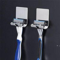 Banyo metal diş fırçası tutucu raf duvar montaj komik asılı depolama raf diş fırçası standı organizatör aracı NHF7684