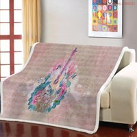 Blankets Fire Sherpa Blanket For Beds Guitar Throw Bedspreads Quilt Music Fleece On Sofa Bed Couch Print
