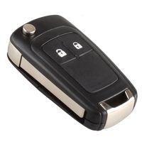 Ключевые кошельки Освещение автомобильного оболочки Пульт дистанционного управления для Vauxhall Opel Astra 2009-на 2 кнопкой замены