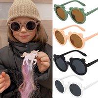 الكرتون الدب الاطفال النظارات الشمسية الفتيات الطفل أزياء لطيف الأطفال نظارات الشمس بنين الطفل في الهواء الطلق نظارات الشاطئ المضادة للأشعة فوق البنفسجية النظارات