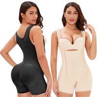 Shaper Bodyshaper Graisse Tummy Control Fajas Plus Taille Shapeear avec la dentelle à la taille haute Shape de fesses pour femmes