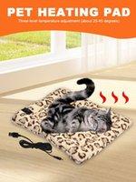Kennels & Pens Pet Heating Pad Soft Dog Bed Indoor Temperature Adjustable Mat Winter Warm Sleeping Bag Accessories For Cat