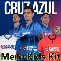 21/22 Liga MX Cruz Azul Футбол Футбол Фанса Версия игрока Campeones 2021 2022 Rodriguez Pineda Alvarado Romo Футбол футболка Мужчины + детские наборы
