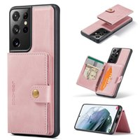 Phone Cases For Samsung Galaxy Note 20 S20 S21 S30 Ultra Case Leather Wallet Card Magnetic Holder Cases Note10 Plus 9 8 Back Covers