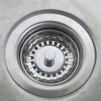 جودة عالية 79.3 ملليمتر 304 الفولاذ المقاوم للصدأ المصارف المطبخ بالوعة مصفاة سدادة النفايات المكونات تصفية الحمام حوض استنزاف RRD7293