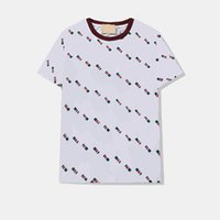 Herren Casual Tshirts Sommer Atmungsabläufe T Shirts Street tops Tops Hemden Unisex Fit Buchstaben gedruckt T-shirt Rundhals Kurze Ärmeln M-2XL