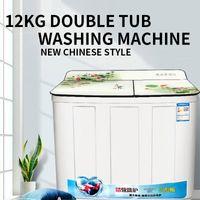 Machine à laver à double baquette avec élution intégrée, effet de séchage fort, marques anciennes distributeurs de serviettes humides de style chinois