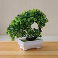 Decorative Flowers & Wreaths Artificial Plants Potted Bonsai Garden Decoration Outdoor Fake Plant Teen Room Decor Party Table Ornament For H