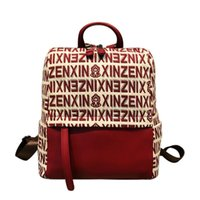 Backpack Red Letter For Women Luxury Handbags Bag Genuine Leather Purse And Carteras Mujer De Hombro Y Bolsos Cc