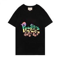 2021s Ayı Tasarımcısı T-shirt Erkek Kedi Tees Moda Giyim Yüksek Kalite Kısa Kollu Adam Kadınlar Punk Baskı Mektubu Yaz Sırt Çantası Kaykay Casual Tee 100% Pamuk Tops