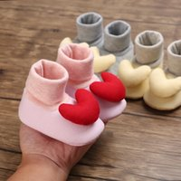 First Walkers Winter Non-Slip Baby Shoes Lovely Warm Design Girls Toddler Soft Slippers Cute Booties Boot