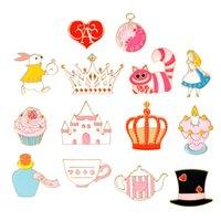 Nuova Creative Magic Hat Castle Teacup Teapot Crown Love Oil Drop Spilla