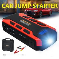 Real capacity 15000mAh Car Jump Starter Power Bank Battery with LCD Screen automobile Booster 12V Auto Starting Device Safety Hammer Jumpstarter Portable Charger