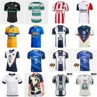 2021 21 Club America Soccer Jerseys 2020 20 Xolos de Togres Casa Away Santos Pachuca Chivas Cüervos Kit Jersey Camicie da calcio
