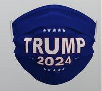 Mask US Stock DHL Face TRUMP 2024 Reusable Washable Non-woven Fabric Dustproof Haze-proof Breathable Masks Wholesale 610