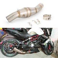Moto de 50,8 mm pour Benelli BJ300GS BN300 Échappement Moyen-Tuyau Motorbike Montour Mid Link Echap Moto Système