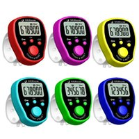 Counters 5 Channel Finger Counter LCD Electronic Digital Chanting Multi-function Tally With Backlight