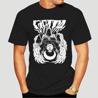 Abbigliamento s horror t shirt piccoli pesante metallo occulto reaper pentagram cranio alt uomini estate stile