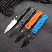 Benchmade BM 530 Buvout Axis Lock Tactical Pieghevole Poltura Pocket Knife 440C lama in nylon in fibra di vetro maniglia in fibra di vetro campeggio escursionismo da caccia all'aperto caccia coltelli EDC 535 537