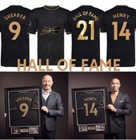 2021 2022 Hall of Fame Soccer Jerseys 21 22 Henry Sheareer Hommes Kit Spécial Édition commémorative Spéciale Édition Noire Homme Chemise de football Black