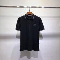 TopStoney футболки 19FW Basic Polo с коротким рукавом, камень Джейсон Стэттам верхние тела острова M-XXL
