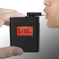 İç Süslemeleri Genel Fabrika Fiyat Profesyonel Alkol Test Cihazı Dijital Nefes Analizörü Breathalyzer Testi LCD Dedektörü