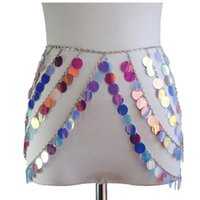 Skirts Metal Glitter Crystal Diamonds Skirt Women High Waist Hollow Out Sequin Mini Nightclub Party Burning Man Outfits