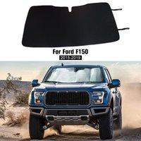 Windshield Sunshade Shade Cover for Ford F150 2015-2019 raptor Sun Visor Anti-UV Protector Aluminum Foil Car Accessories