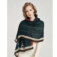 European and American autumn winter new cotton linen scarf women's fashion warm neck long travel beach towel shawls