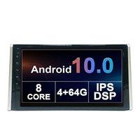Toyota RAV4-2019 GPS 네비게이션 헤드 유닛 10 인치 안드로이드 IPS 자동 인터페이스 스테레오 지원 카레인 디지털 TV 용 자동차 DVD 멀티미디어 플레이어